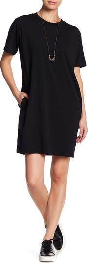 Платье-футболка с круглым вырезом Cotton Emporium