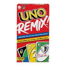 Персонализированная карточная карточная игра Uno Remix Mattel