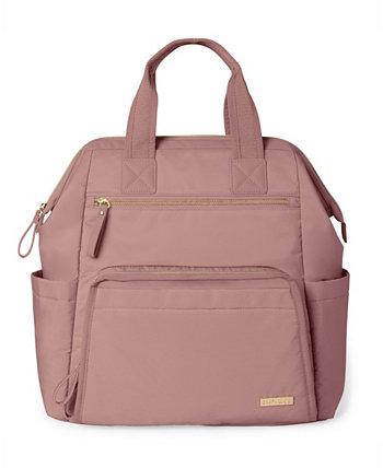Рюкзак для подгузников с широким открытым корпусом Skip Hop