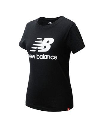 Футболка с короткими рукавами и рисунком для больших девочек New Balance