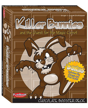 Кролики-убийцы и поиски волшебной морковки - шоколадная бустерная колода Playroom Entertainment