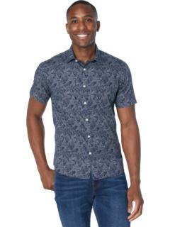 Классическая рубашка-трауб из хлопка с короткими рукавами UNTUCKit