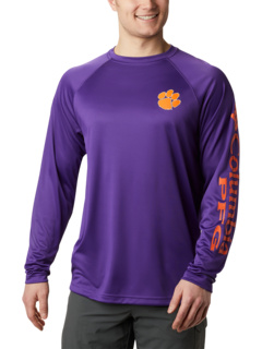 Рубашка с длинным рукавом Clemson Tigers Terminal Tackle ™ Columbia College