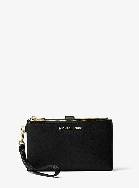 Кожаный кошелек для смартфона Adele Michael Kors