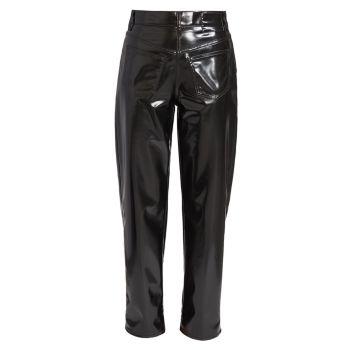 Faux Patent Leather Pants MM6 Maison Margiela