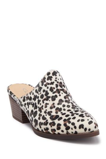 Мюли Catherin на каблуке с леопардовым принтом CL By Laundry