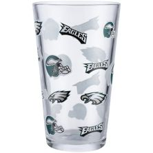 Philadelphia Eagles 16oz. Allover Print Pint Glass Unbranded