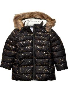 Длинное пуховое пальто (для детей младшего и младшего возраста) Spotted Zebra