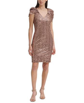 Платье-футляр с пайетками и пайетками Eliza J