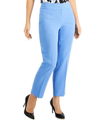 Узкие брюки из эластичного крепа Petite Kasper