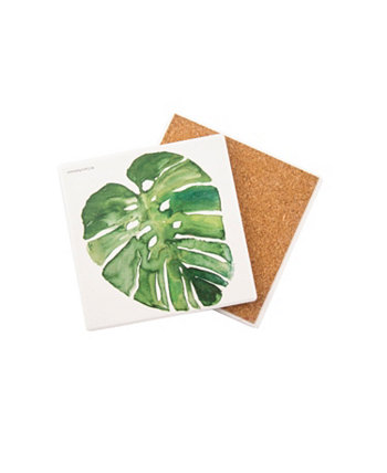 Tropical Frond Coaster Single THIRSTYSTONE