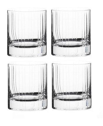 Двойная старинная барная посуда Trilogy, набор из 4 шт. Qualia Glass