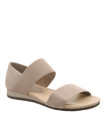 Женские сандалии на плоской подошве с девизом Madeline