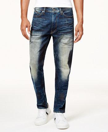 Мужские спортивные эластичные джинсы в тонкую форму, предназначенные для Macy's Sean John