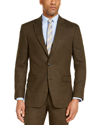 Men's Modern Fit Linen Suit Separate Jackets Tommy Hilfiger