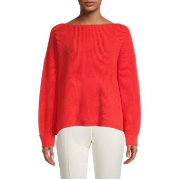 Пуловер с вафельной вязкой French Connection