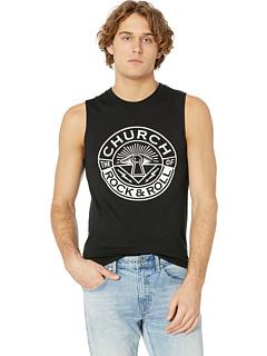 Оригинальный топ с логотипом Premium The Church of Rock & Roll