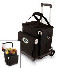 Picnic Time Green Bay Packers Cellar Insulated Wine Cooler & Hand Cart Picnic Time