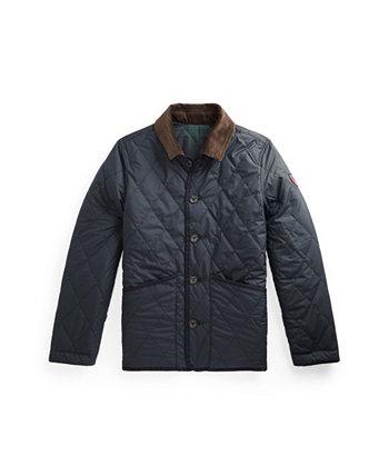 Двусторонняя водоотталкивающая куртка Big Boys Ralph Lauren