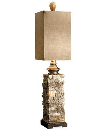 Настольная лампа для буфета из многослойного камня Анд Uttermost