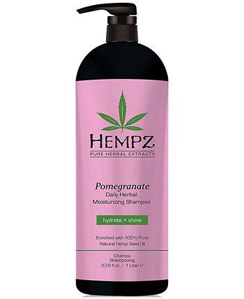 Pomegranate Herbal Shampoo, 33-oz., from PUREBEAUTY Salon & Spa Hempz