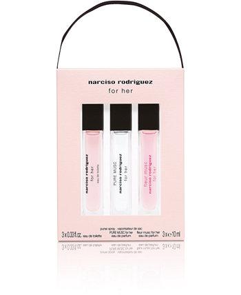 3-Рс. Для ее путешествия Подарочный набор спрей, созданный для Macy's Narciso Rodriguez