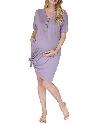 Женский комплект ночной рубашки и мешочка для новорожденных Mama Hospital Blooming Women by Angel