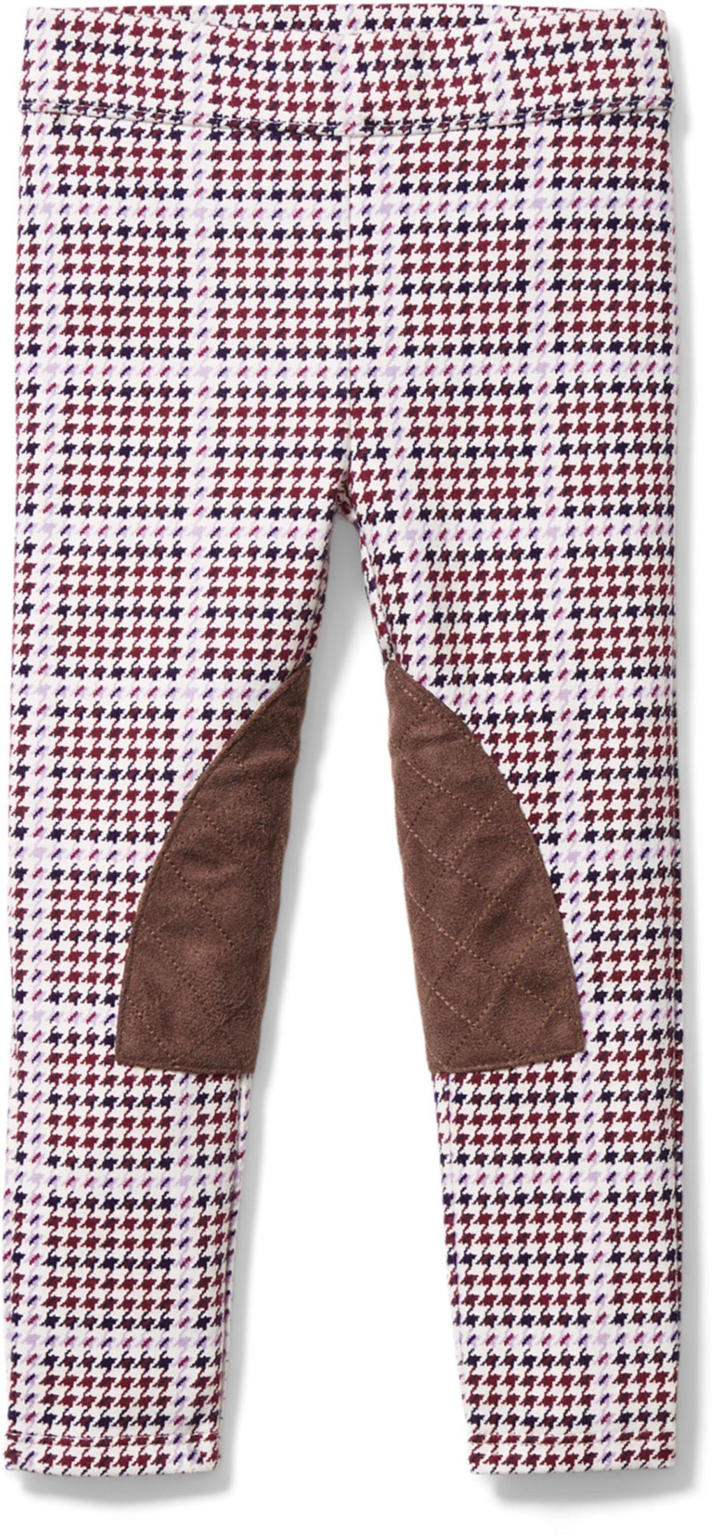 Штаны-понте с гусиной лапкой (для малышей / маленьких детей / старших детей) Janie and Jack