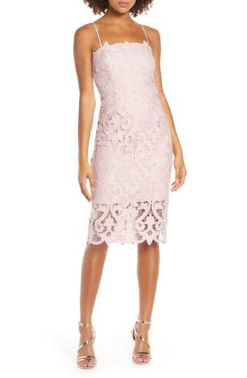 Коктейльное платье Lina Lace Bardot