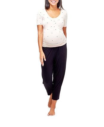 Пижама для кормящих мам Rhys NOM Maternity
