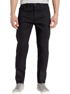 Relax Tapered из Solid Black Stretch Selvedge на 11 унций The Unbranded Brand