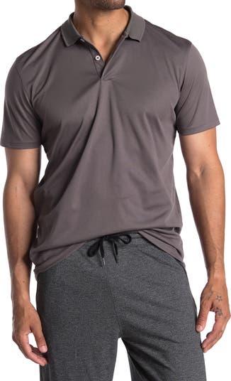 Рубашка-поло телесного цвета с короткими рукавами 90 Degree By Reflex