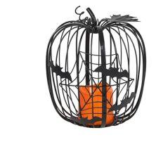 Celebrate Halloween Together Indoor / Outdoor Small LED Pumpkin Floor Decor Celebrate Halloween Together