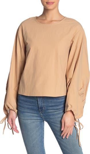 Блуза с эффектными рукавами J.O.A.