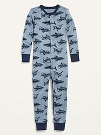 Слитная пижама унисекс с принтом для малышей и малышей Old Navy