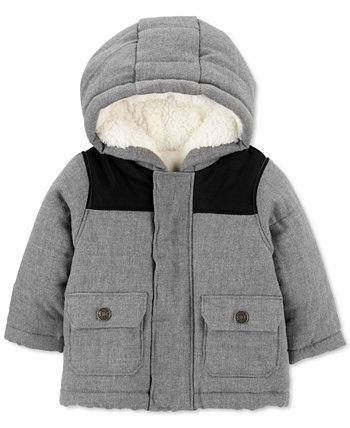 Куртка для маленьких мальчиков на флисовой подкладке на молнии Carter's