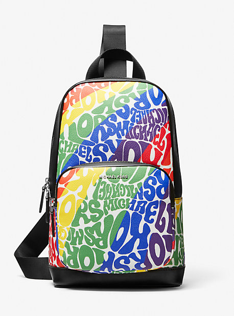 Сумка на ремне с логотипом Hudson Graphic Michael Kors