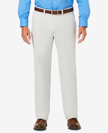 Роскошные удобные мужские повседневные брюки классического кроя J.M. HAGGAR