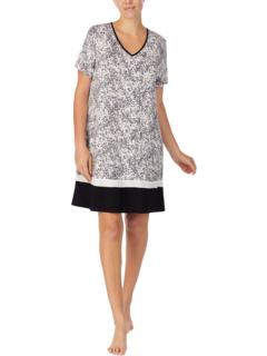 Пижамы 35-дюймовая пижама с короткими рукавами Donna Karan