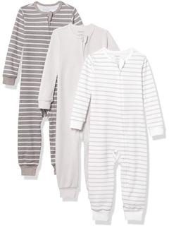 Комплект из 3 костюмов для сна и игр Ultimate Zippin (младенец) Hanes Ultimate Baby
