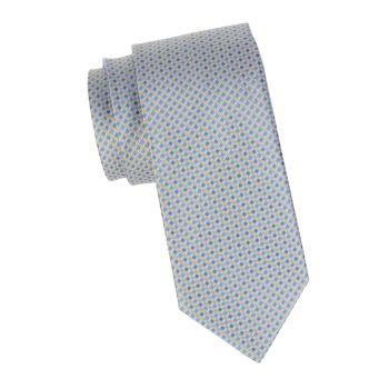 Шелковый галстук с бриллиантами Brioni