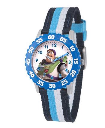 Disney Toy Story для мальчиков 4 Buzz Lighter Multi Часы из нержавеющей стали с ремешком для часов 32мм Ewatchfactory