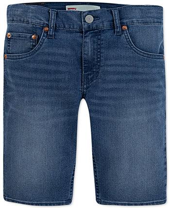 Узкие эластичные джинсовые шорты Little Boys 511 ™ Levi's®