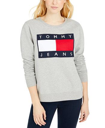 Свитшот с флагом Tommy Jeans