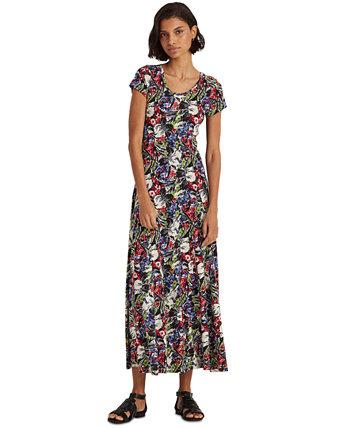 Floral Maxidress Ralph Lauren