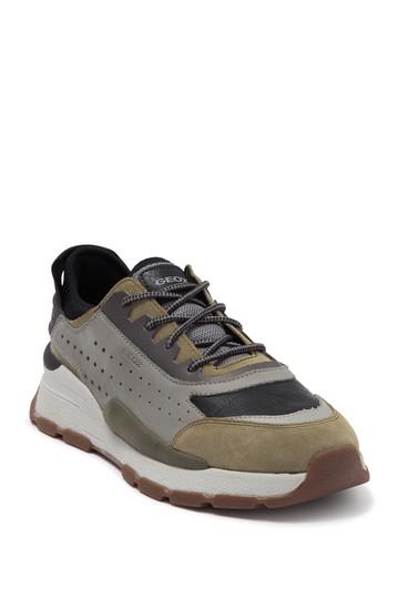 Замшевые кроссовки Regale Geox