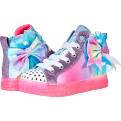 Twinkle Toes - Shuffle Brights Rainbow Dust 314258L (Маленький ребенок) SKECHERS KIDS