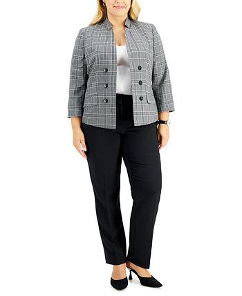Костюм с пиджаком и брюками больших размеров Le Suit