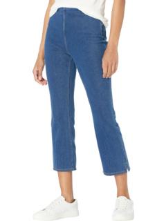 Вязаный джинсовый кроп-клеш Valerie Kick Lysse