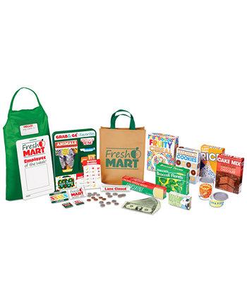 Melissa & Doug Fresh Mart Коллекция аксессуаров для продуктового магазина Melissa and Doug